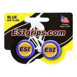 Заглушки руля ESI Bar Plug Blue, синий