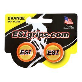 Заглушки руля ESI Bar Plug Orange, оранжевый