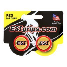 Заглушки руля ESI Bar Plug Red, красный