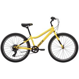 """Велосипед 24"""" Pride BRAVE 4.1 2021 жовтий, Колір: Жовтий, Розмір рами: дитячий, Діаметр колеса: 24"""""""