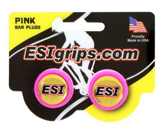 Заглушки руля ESI Bar Plug Pink, розовый