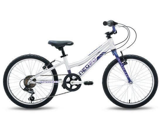 """Велосипед 20"""" Apollo Neo 6s girls синій / бузковий 2021"""